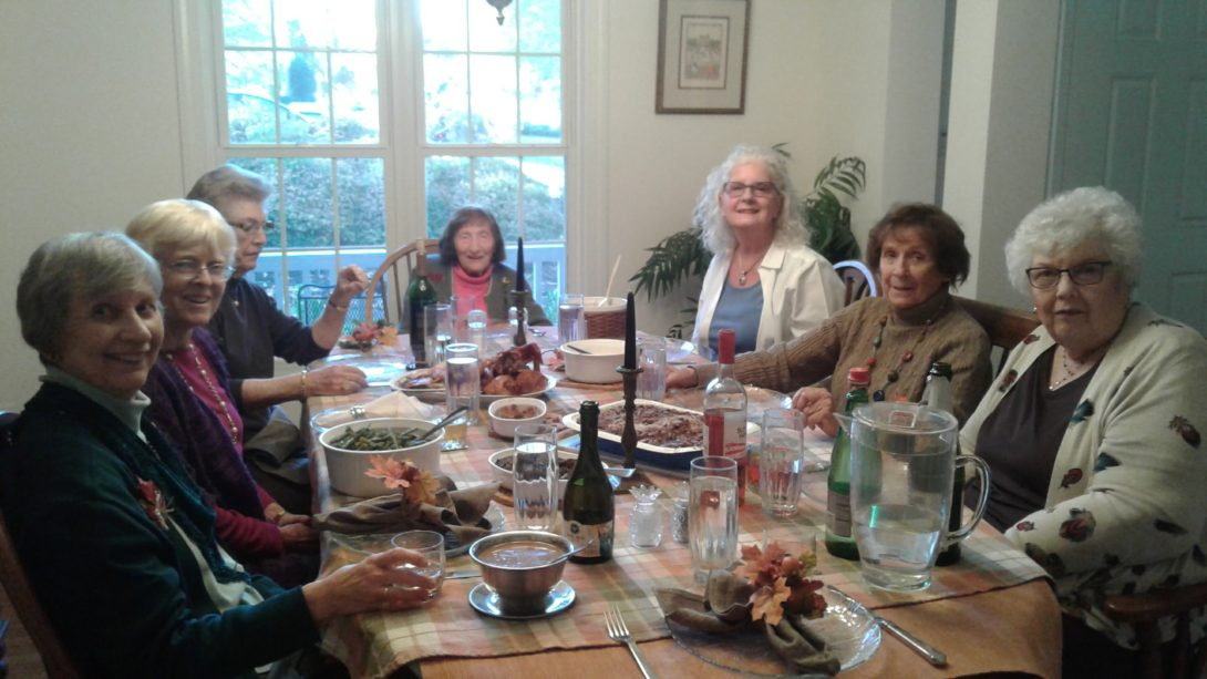 "Reflections on ""FriendsGiving"" and What I am Grateful for Now:  A Conversation with Camille"