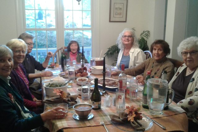 """Reflections on """"FriendsGiving"""" and What I am Grateful for Now:  A Conversation with Camille"""