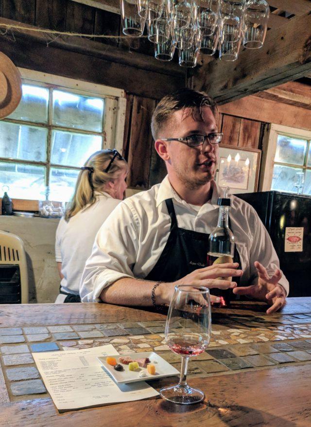 Delaplane - Aspen Dale Winery - Wine Tasting Host
