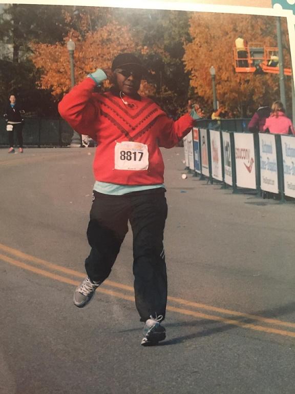 Evelyn Allen Running