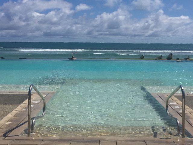Fiji - Infinity Pool Overlooking Ocean