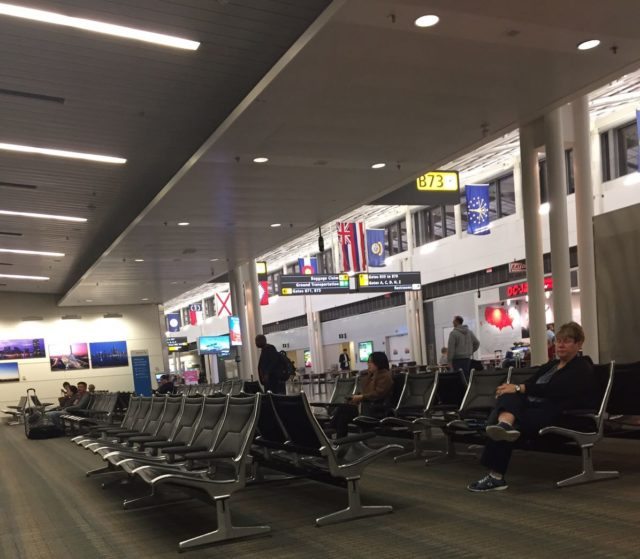 Fiji - Waiting at Dulles