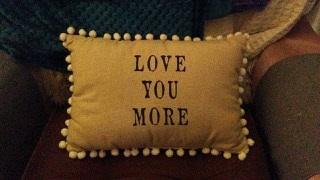 Gratitude - Ma's pillow