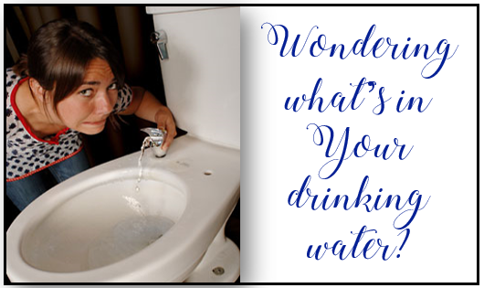 Wondering What's in Your Drinking Water?