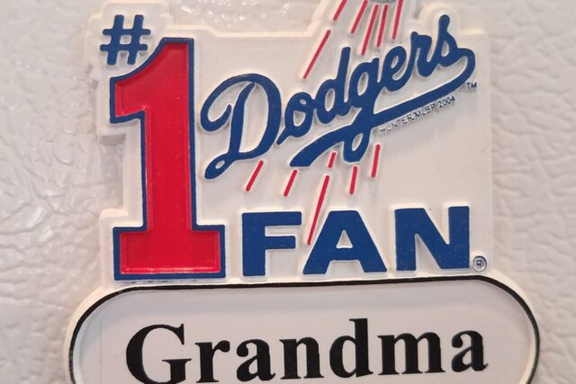 My Mom's Gone,and the Dodgers Won the Pennant