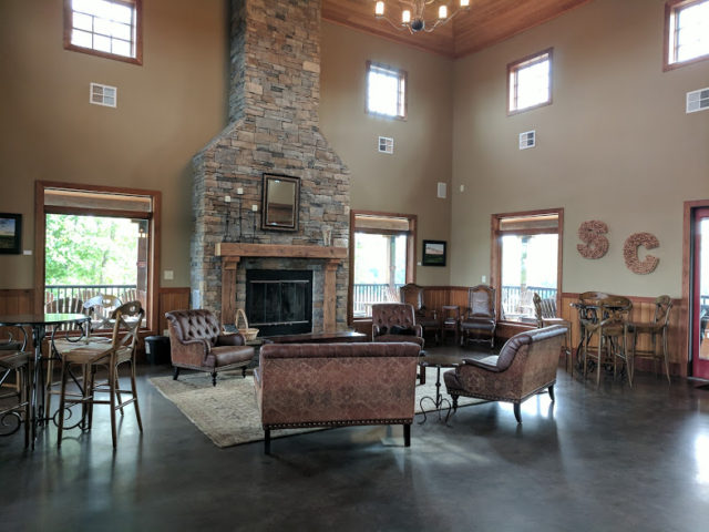 Saude Creek Winery - Interior